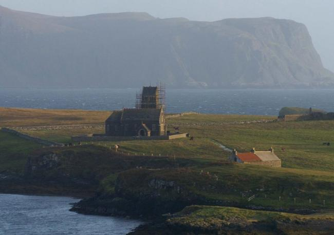 People living on the isle of Canna are to benefit financially from a new book