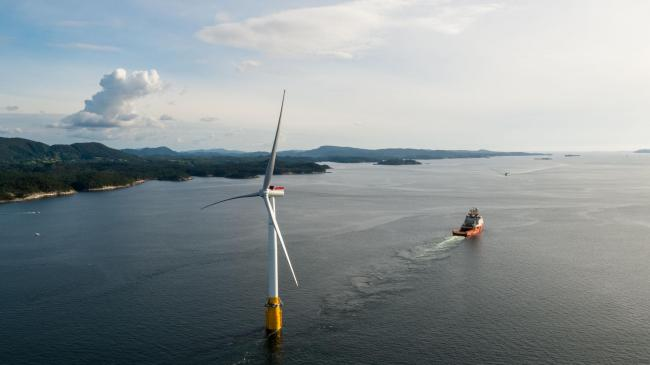 Thousands of jobs can be created by floating wind farms