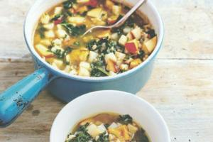 Recipe of the Day: Celeriac, kale, barley and apple broth by Hugh Fearnley-Whittingstall