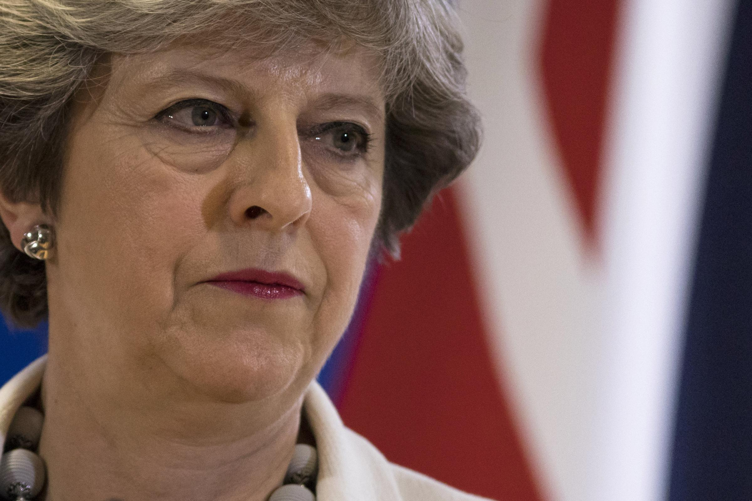 Theresa May warns Tory rebels Brexit will not be derailed