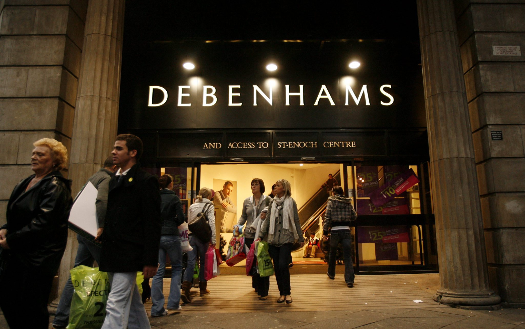 Debenhams insists it has a 'healthy balance sheet and cash position'.