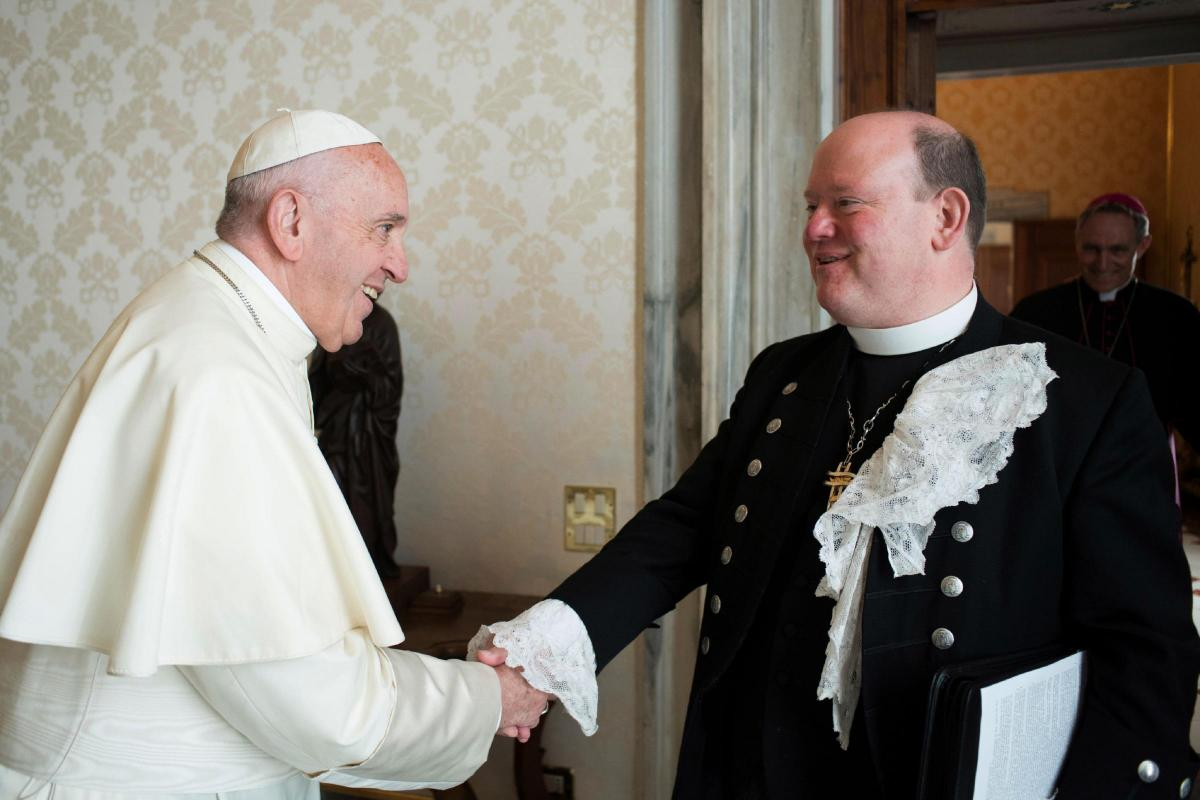 Image result for pope francis moderator of the church of scotland