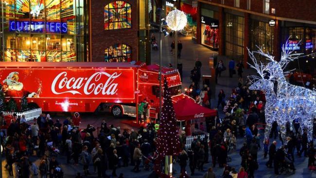 Coca Cola Christmas.Health Experts Criticise Coca Cola Christmas Truck Tour