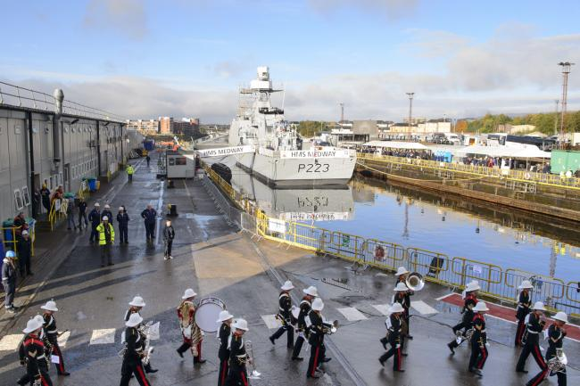Fresh blow for Clyde yards as Navy order set to go overseas