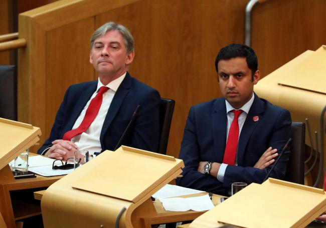 Richard Leonard and Anas Sarwar