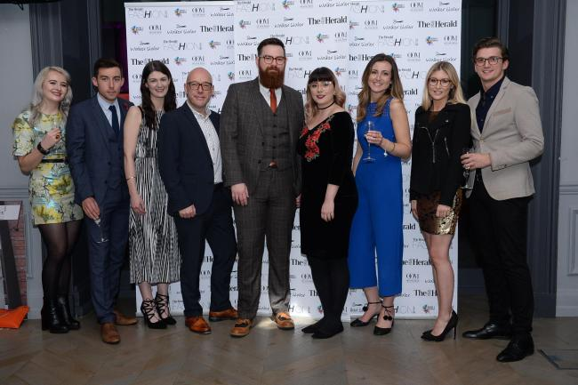 Winners of two categories, Scottish Online Retailer of the Year and Online Accessory Retailer of the Year IOLLA. Picture: Kirsty Anderson.