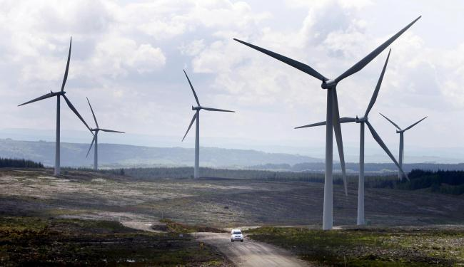 Conservationists have previously blamed wind farms for the loss of precious countryside in Scotland