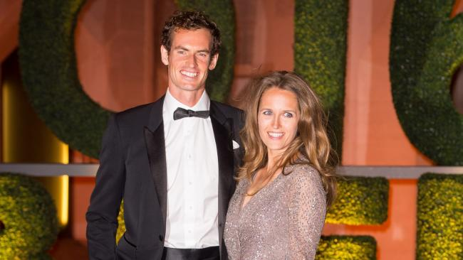 Sir Andy Murray and wife Kim Sears celebrate birth of first son