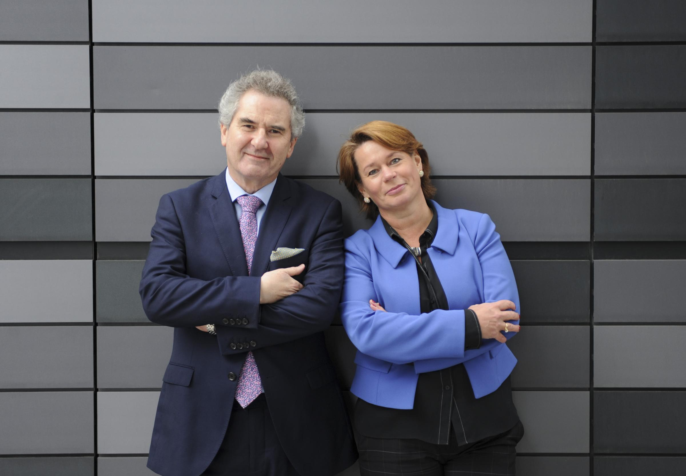 Former SNP MPs Roger Mullin and Michelle Thomson