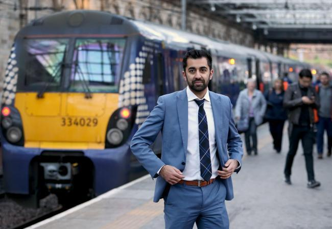 Glasgow To Edinburgh Train Journey Cut 42 Minutes By End Of 2018 Says Transport Minister