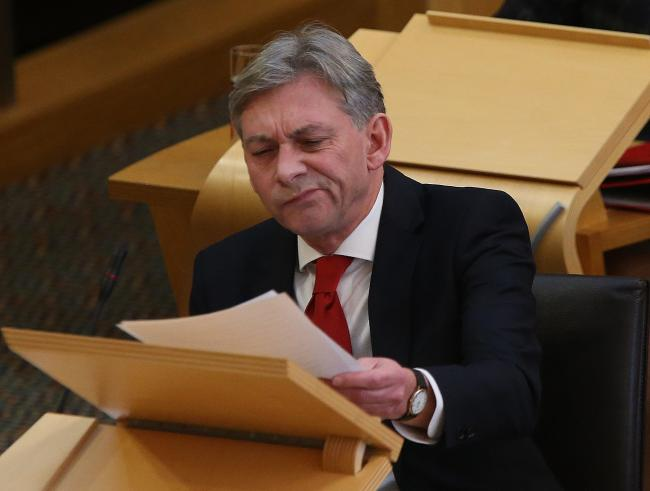 Richard Leonard at FMQs