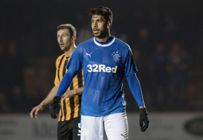 Eduardo Herrera is not going to go down in Rangers history as one of the club's great players