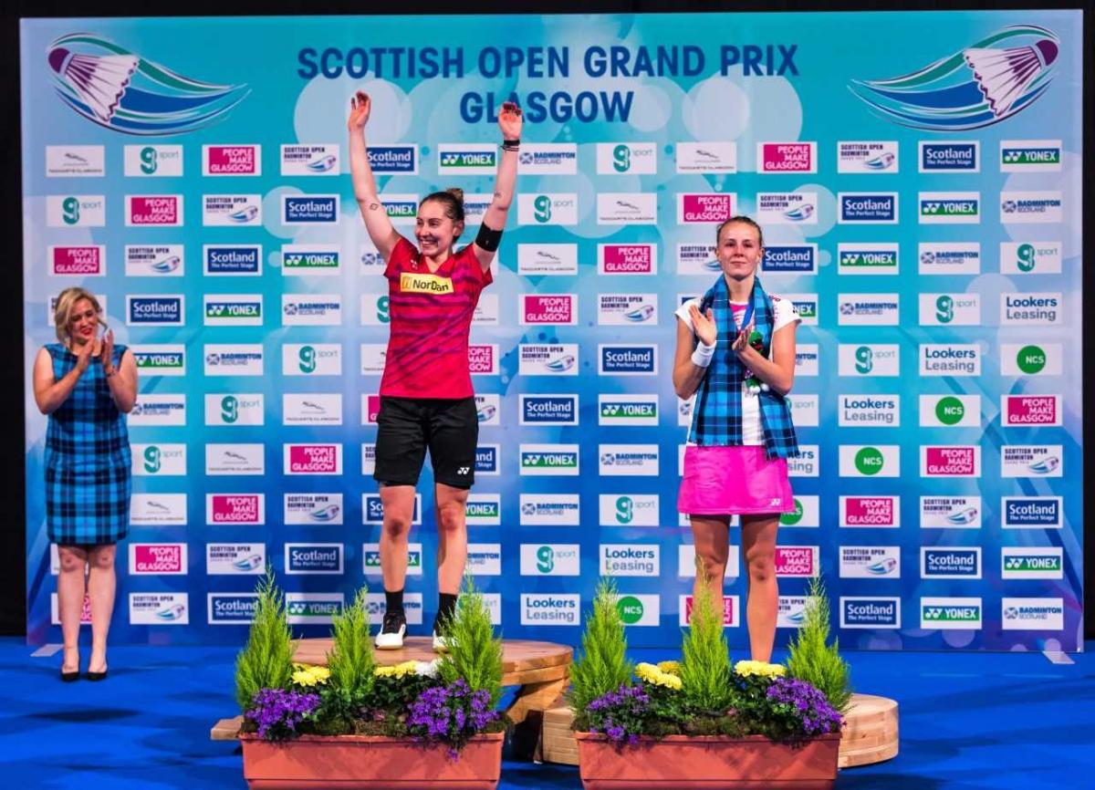 Kirsty Gilmour promise Scottish Open Grand Prix win in Emirates