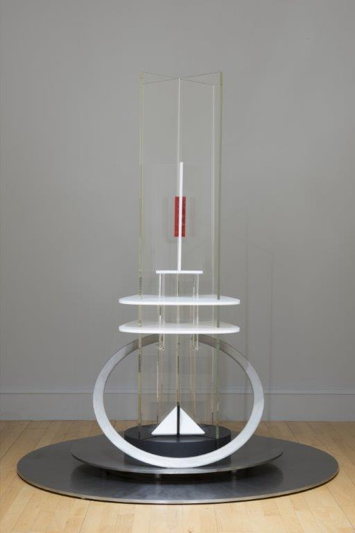 Column, 1921-22/ 1975 by Naum GABO (1890-1977). Accepted under the Cultural Gifts Scheme by H.M. Government from Graham Williams on behalf of himself and his wife, Nina Williams, and allocated to The Scottish National Gallery of Modern Art, 2017