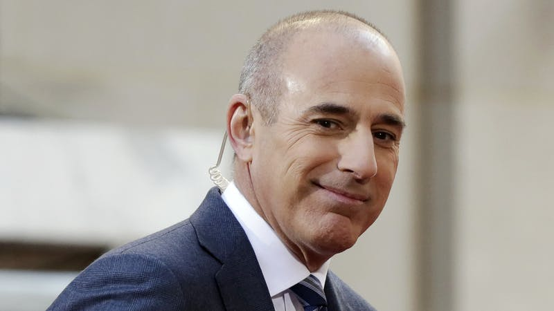NBC's Today show host Matt Lauer was fired this week over 'inappropriate sexual behaviour'