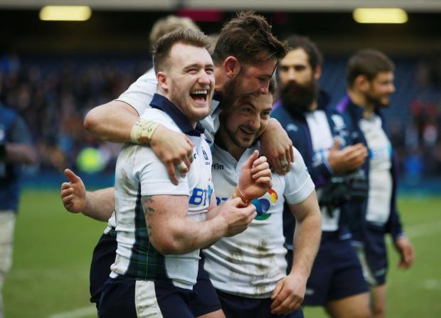 Stuart Hogg has been trying to persuade the Glasgow coaching team that he has been fit to play for the past number of weeks