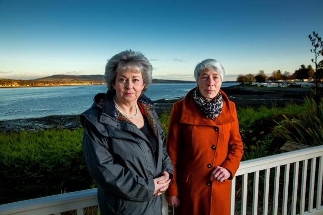 Ann Kelly (left) and Marion Brown, who are campaigning on behalf of patients harmed by prescription drug dependence and withdrawal (Picture by John Young / www.YoungMedia.co.uk)