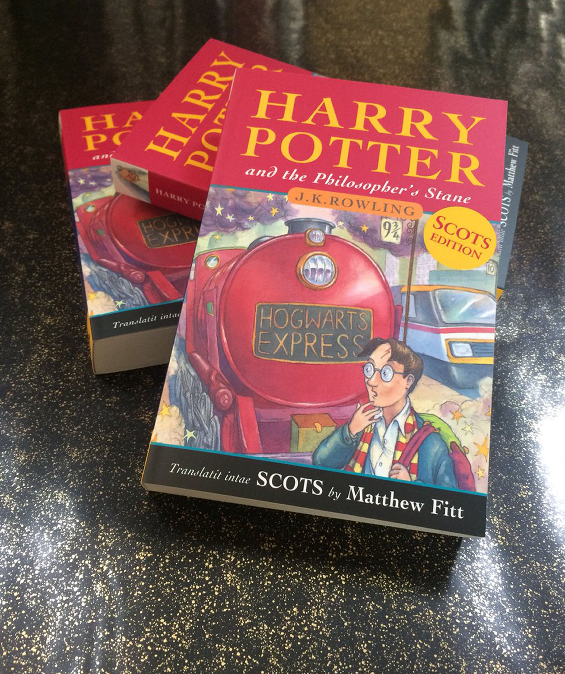 The first book in the Harry Potter series has had a Scottish treatment and has been translated into Scots..Harry Potter and the Philosopher's Stane marks the 20th anniversary of the first publication of the boy wizard's adventures..Harry Potter ha