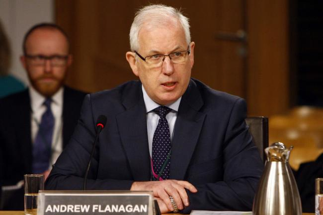 Andrew Flanagan, former chair of the Scottish Police Authority