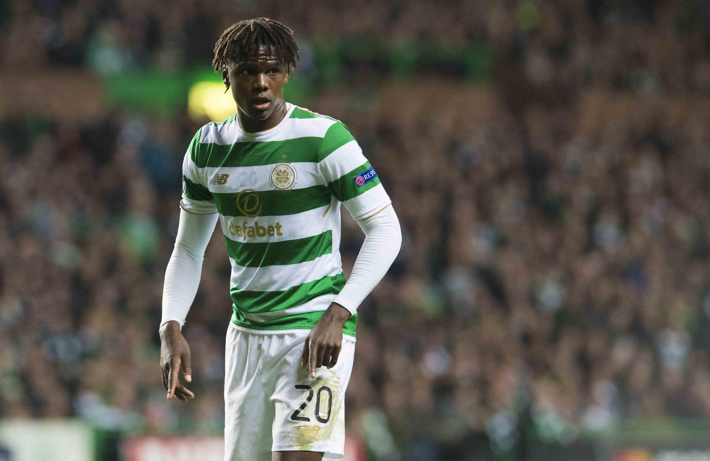 Dedryck Boyata in action for Celtic