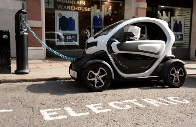Capital motorists to plug into electric vehicle charging hubs in three different zones