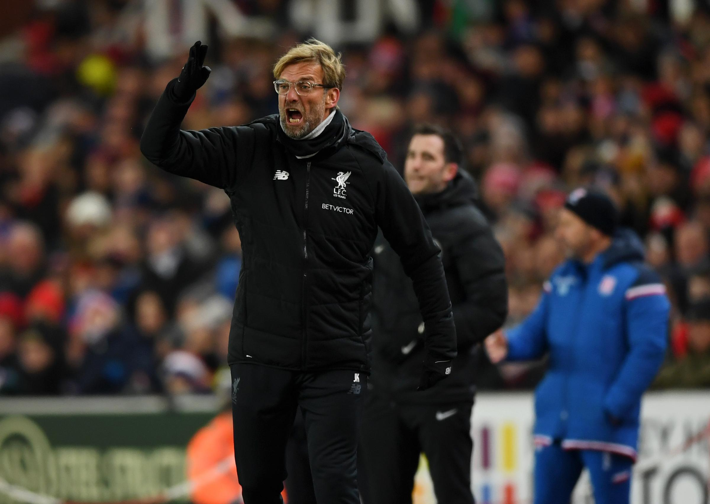 Jurgen Klopp needs to win at Bournemouth today after two home draws Photograph: Getty