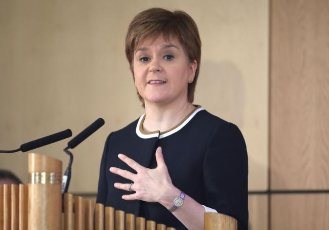 Nicola Sturgeon: Jane Barlow/PA Wire