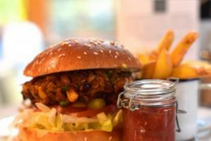 Recipe of the Day: Bean burger by Garrison West in Fort William