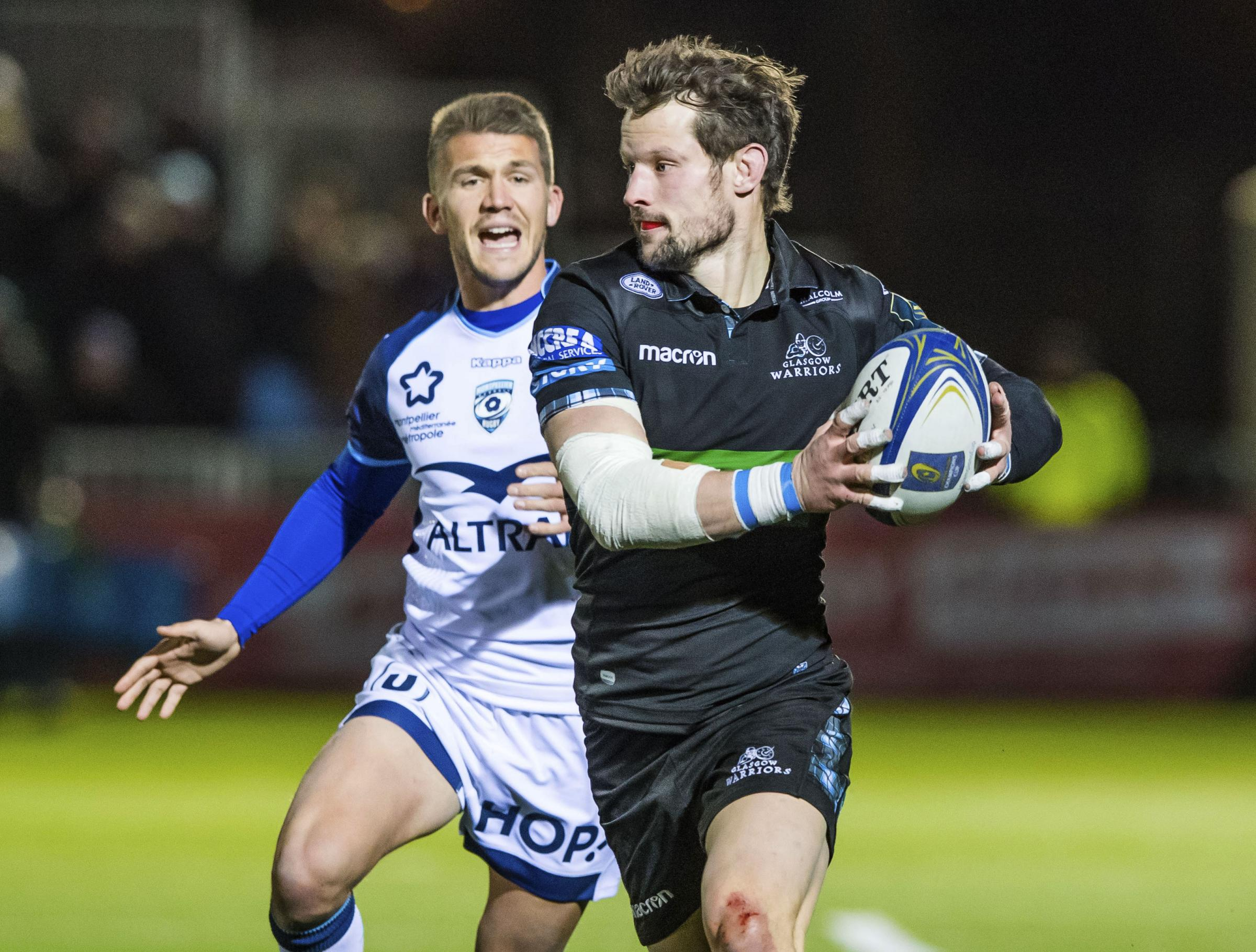Peter Horne was one of the bright spots on another poor day in Europe for Glasgow Warriors