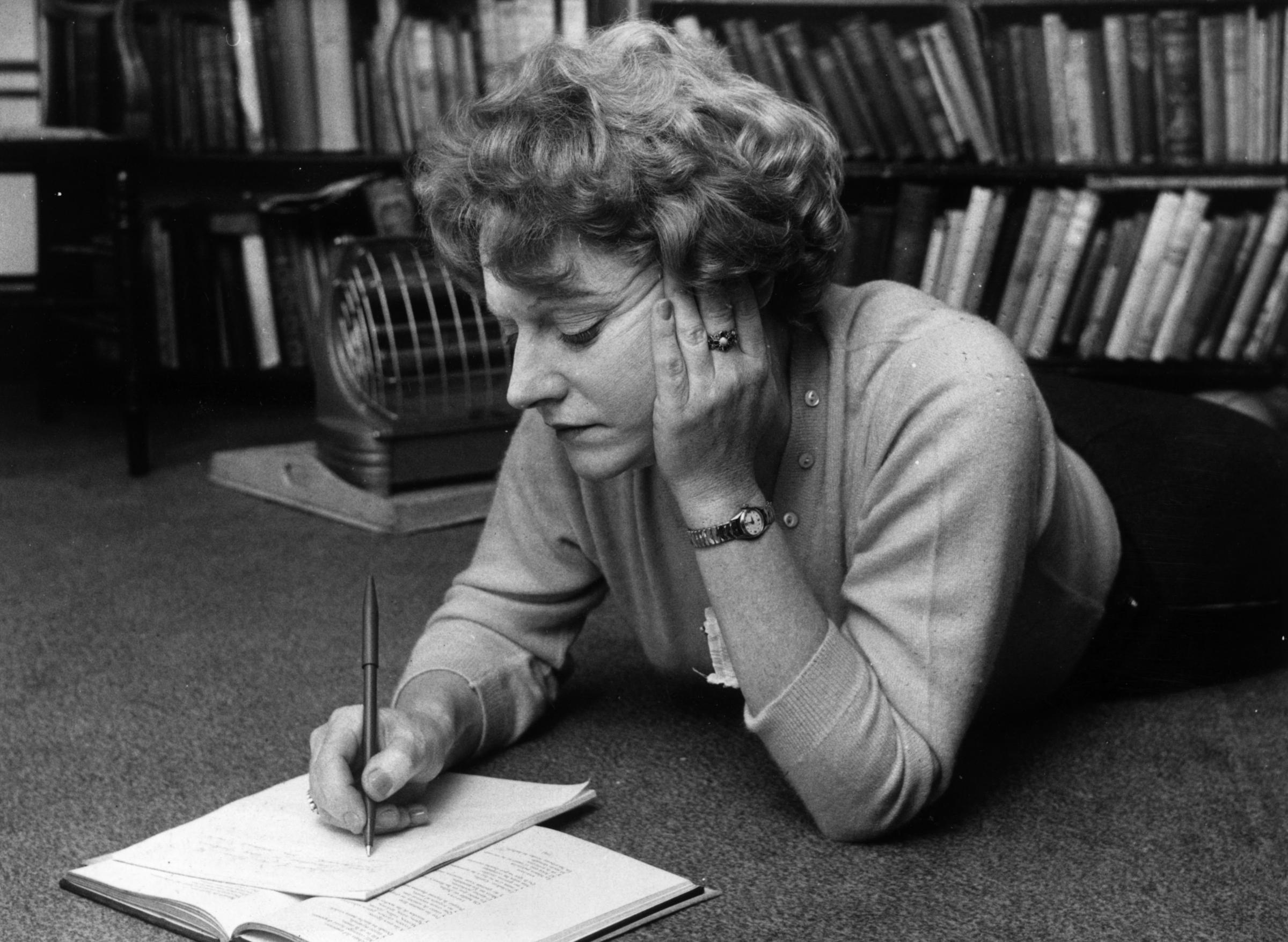 Muriel Spark. Getty Images.