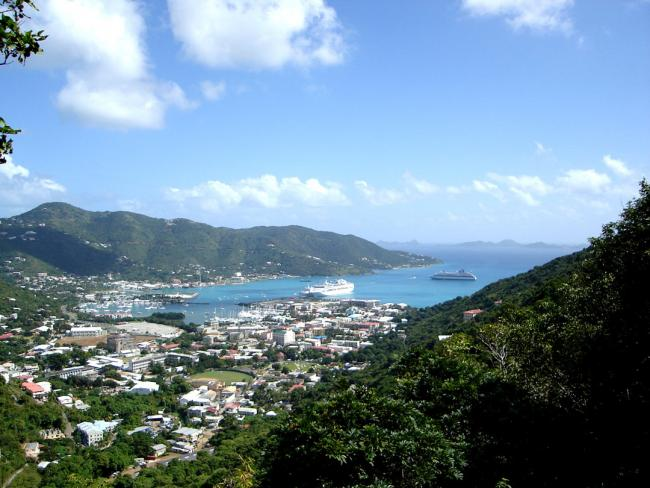Road Town, located on Tortola, is the capital of the British Virgin Islands.