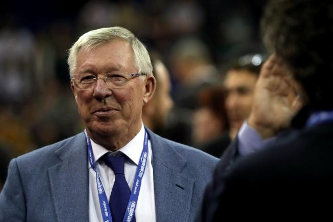 Sir Alex Ferguson in the crowd during the NBA London Game 2018 at the O2 Arena, London. Photo: Simon Cooper/PA Wire.