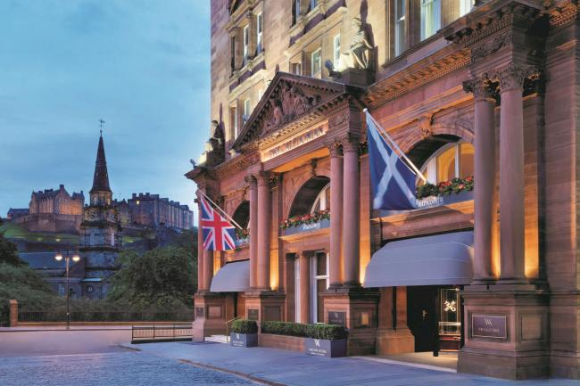 Edinburgh's famous Caledonian Hotel sold for £85 million