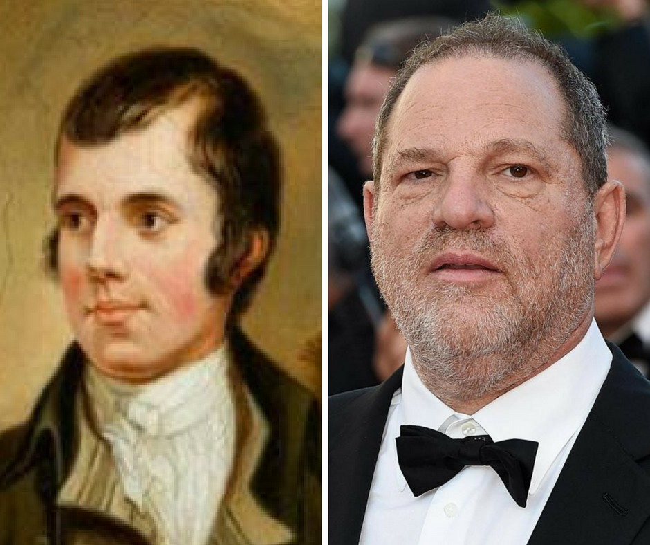Academics divided by claim Burns was 'Harvey Weinstein of his day'