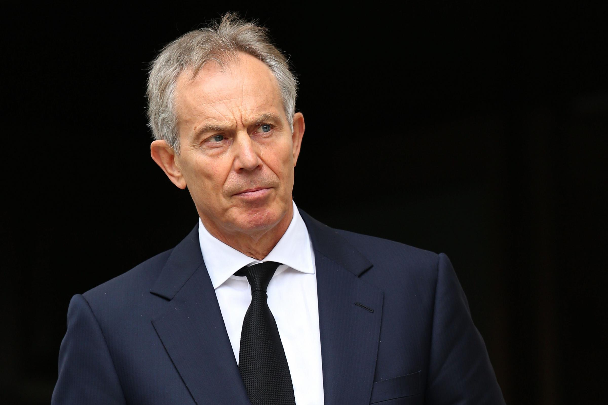 Former Prime Minister Tony Blair Picture: Chris Jackson/PA Wire