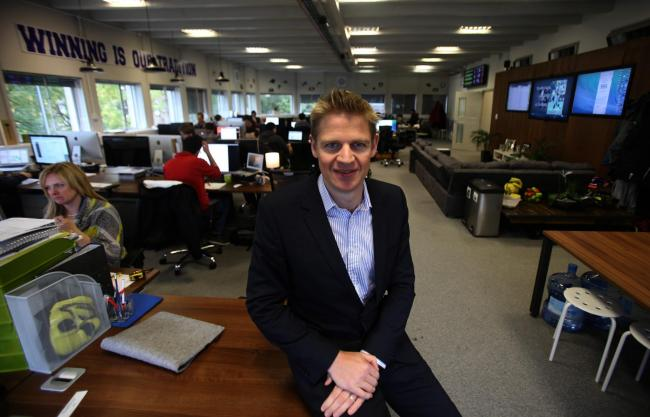 Former FanDuel CEO Nigel Eccles was part of a five-strong team that founded the firm in 2009.