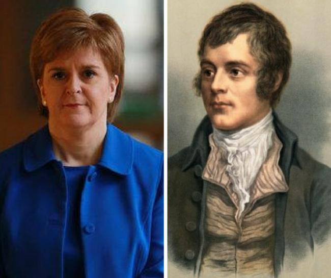 First Minister expresses pride in Burns Night greeting