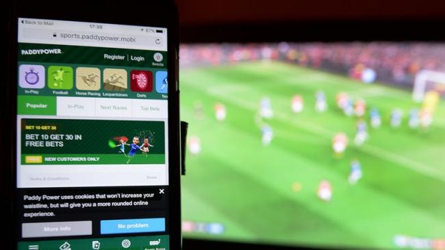 Calls to ban gambling adverts before watershed and during sport events