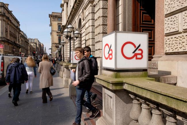 Clydesdale Bank office in Glasgow