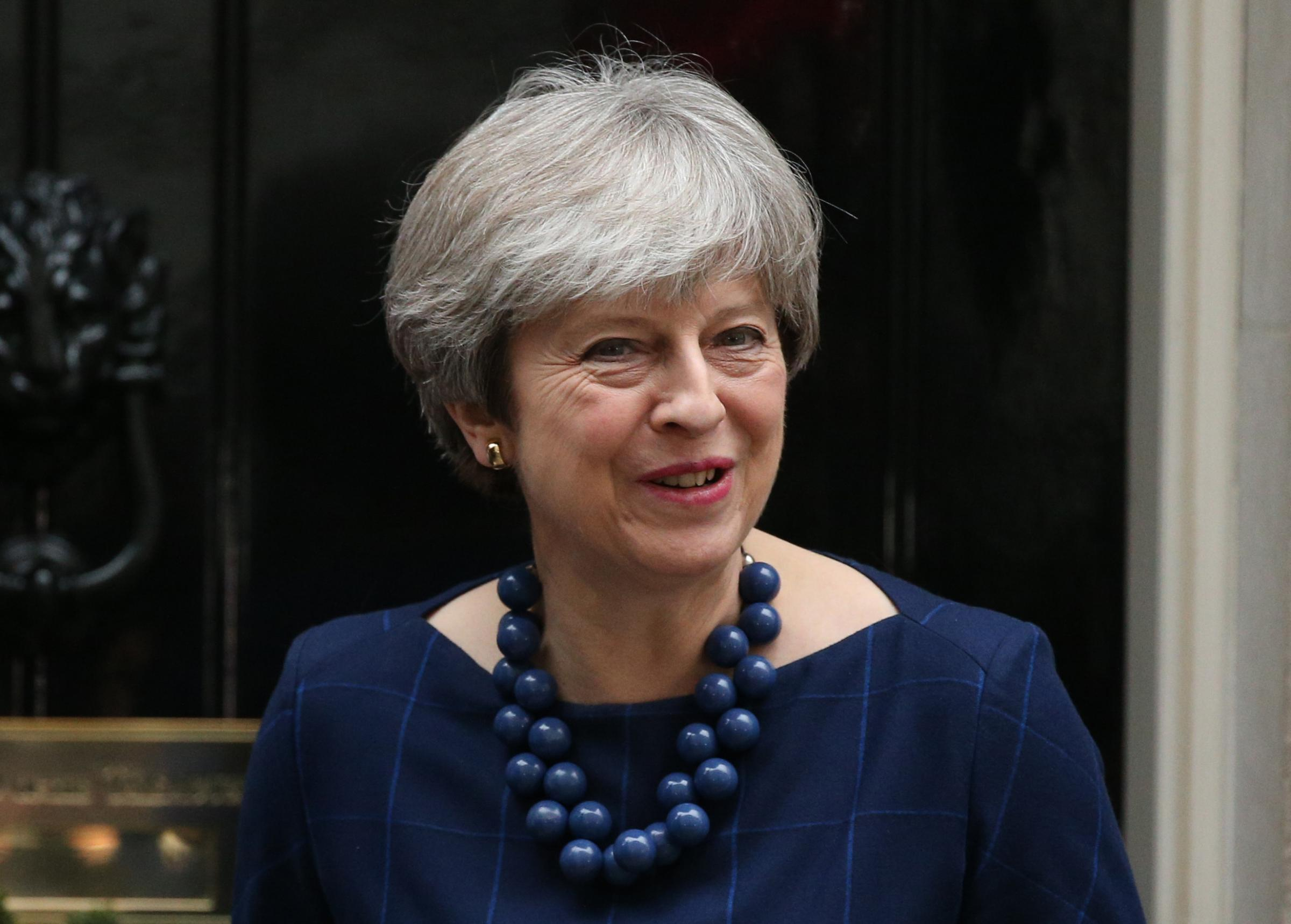 "Prime Minister Theresa May has appealed to politicians to take a stand for ""decency, tolerance and respect"" and has launched a crackdown on the intimidation of parliamentary candidates. Photograph: Jonathan Brady/PA Wire."