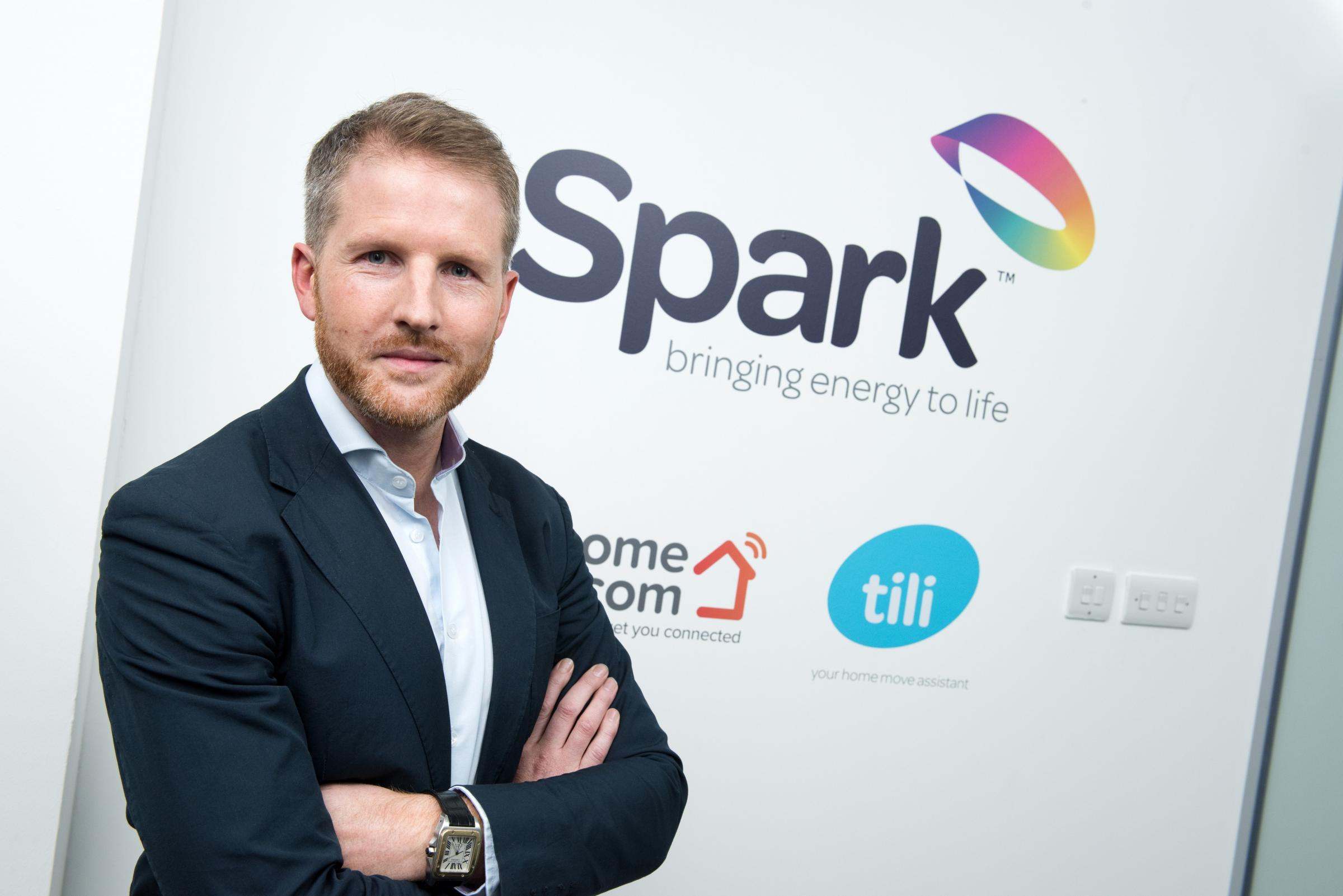 Chris Gauld, chief executive, Spark Energy
