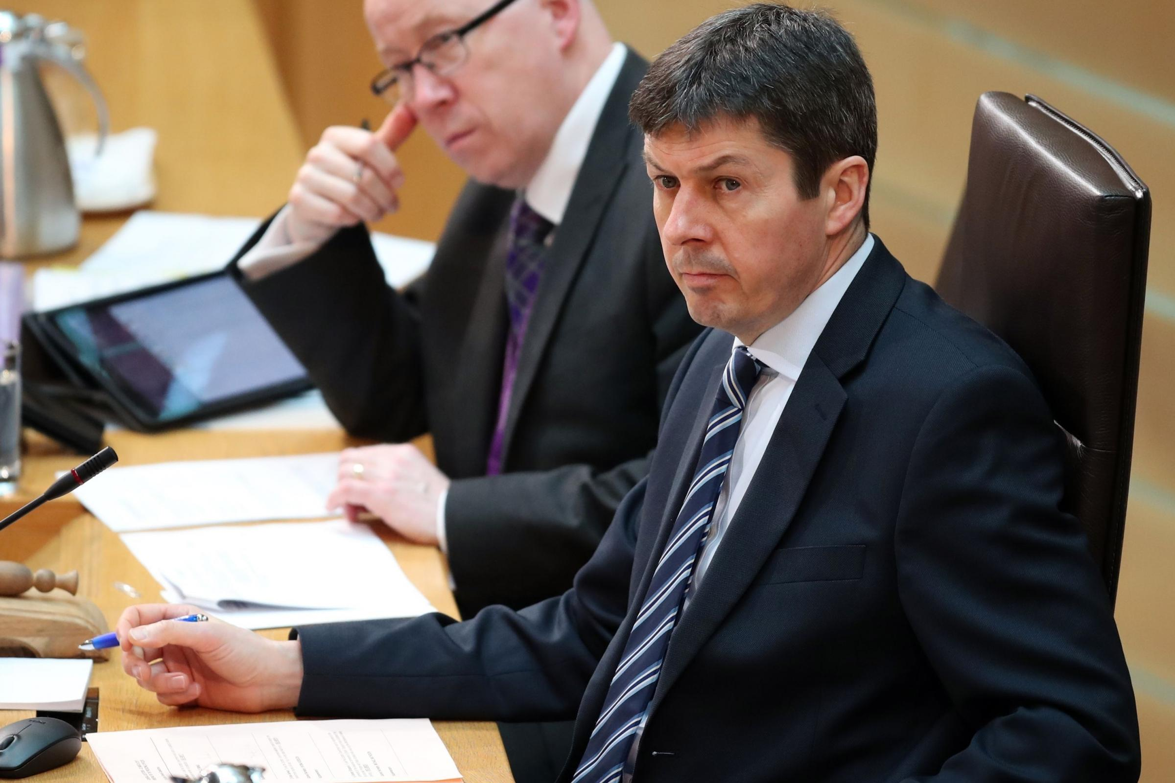 Presiding Officer Ken Macintosh becomes latest MSP to stand down