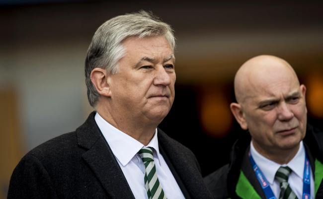 Celtic chief executive Peter Lawwell.