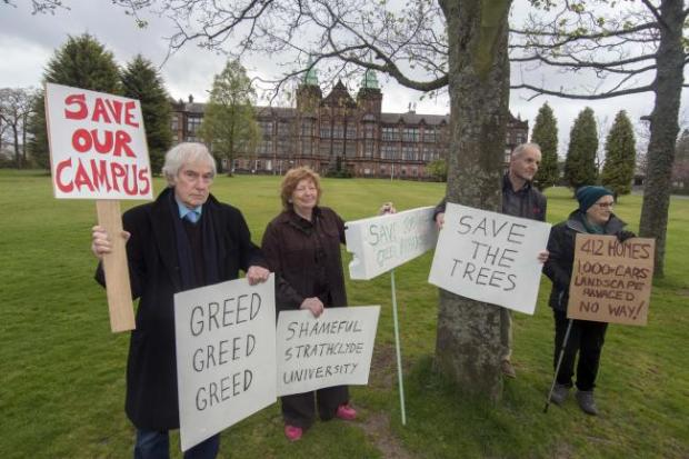 Campaigners fail in legal challenge over housing plan on historic Jordanhill Campus site