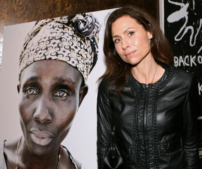 Minnie Driver, seen here at an Oxfam event in Los Angeles, has stepped down as an ambassador for the charity following the allegations about its workers in Haiti.