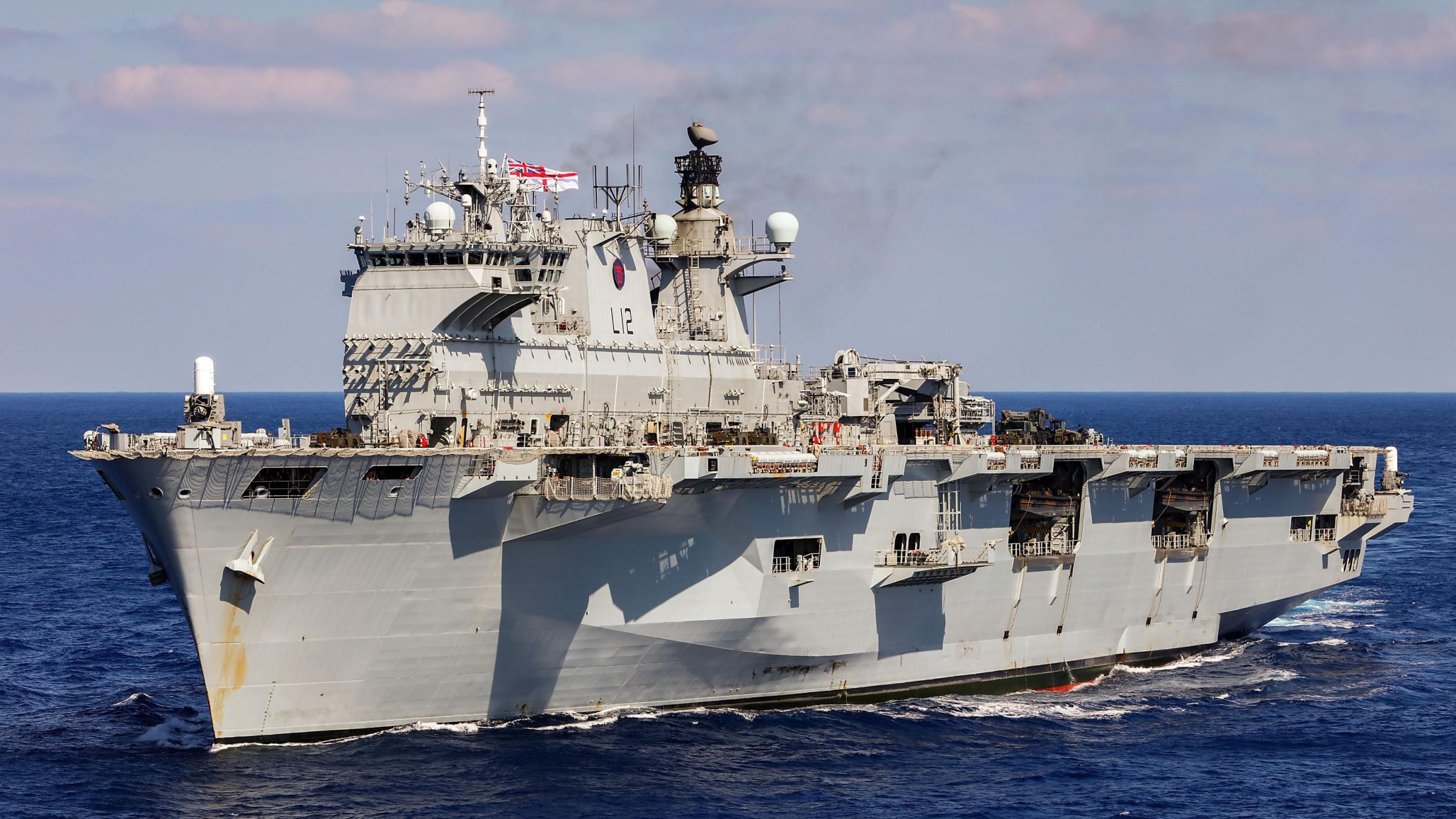 Navy's flagship HMS Ocean sold to Brazil for £84 million