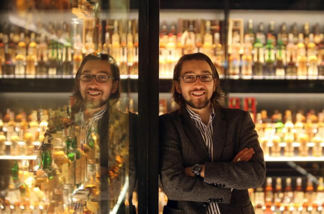 Blair Bowman who has organised a World Whisky Day...SME FOCUS..PiC Gordon Terris/The Herald.