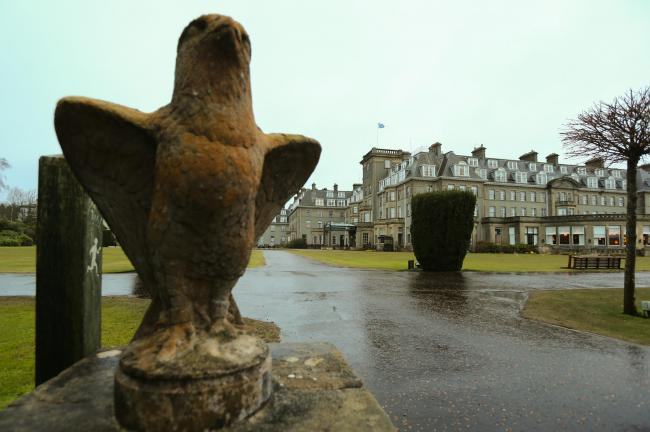 Gleneagles Hotel to close until February after tier three restriction change. Picture: Colin Mearns.