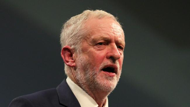 Labour leader Jeremy Corbyn told the press