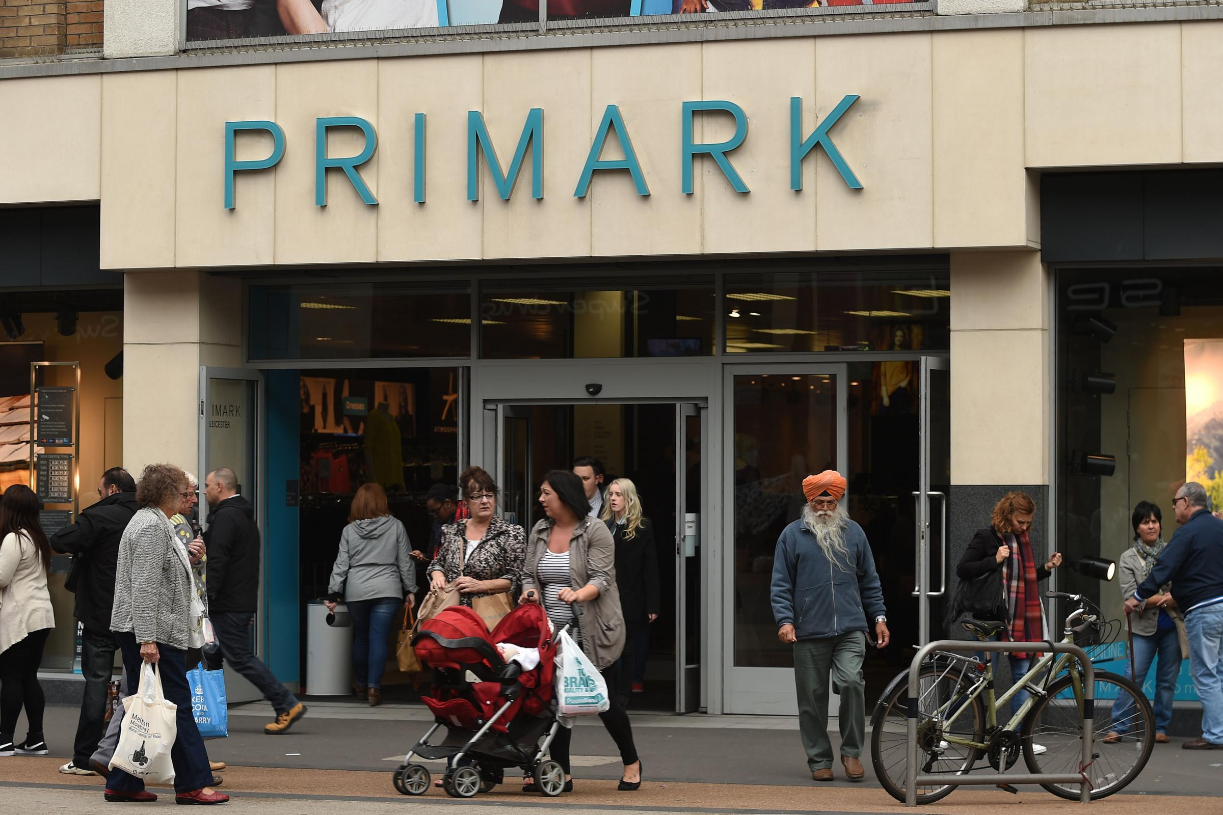 Primark said trading has been challenging